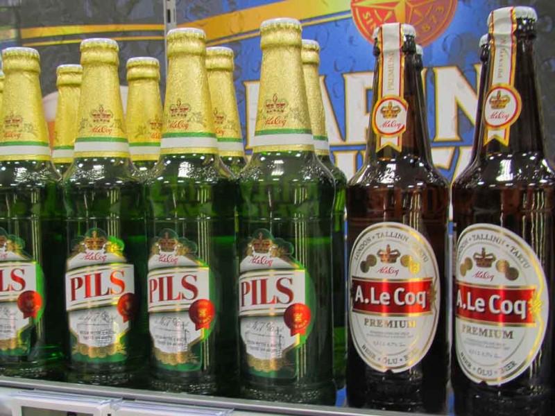 A. Le Coqi õlu pudelis. Pruulitud Tartus.