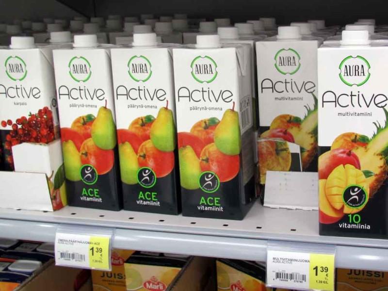 A. Le Coqi vitamiinijoogid. Turustaja: Olvi.