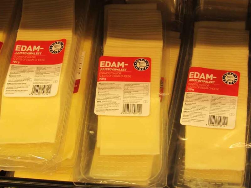 E-piima juustud Euroshopperi pakendis.
