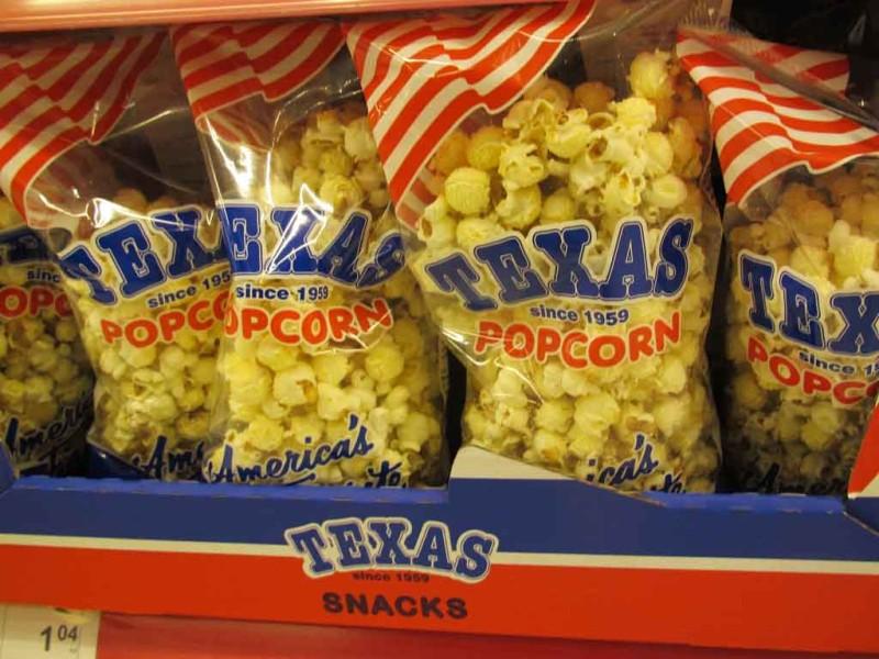 Balcnacki popkorn. Vana kaubamärk Texas on algselt pärit – Soomest.