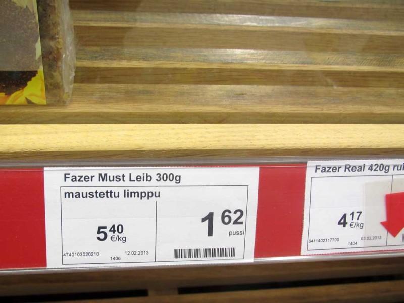 Fazeri musta leiba seekord ei saanud. Võib-olla pühapäeva tõttu.