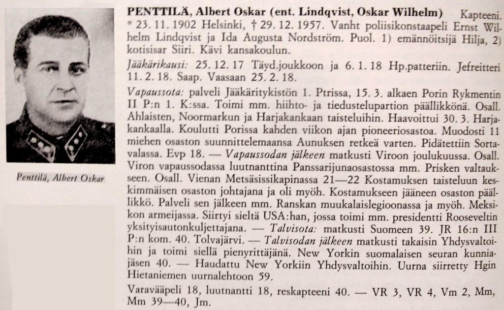 Suomen jääkärien elämäkerrasto 1975