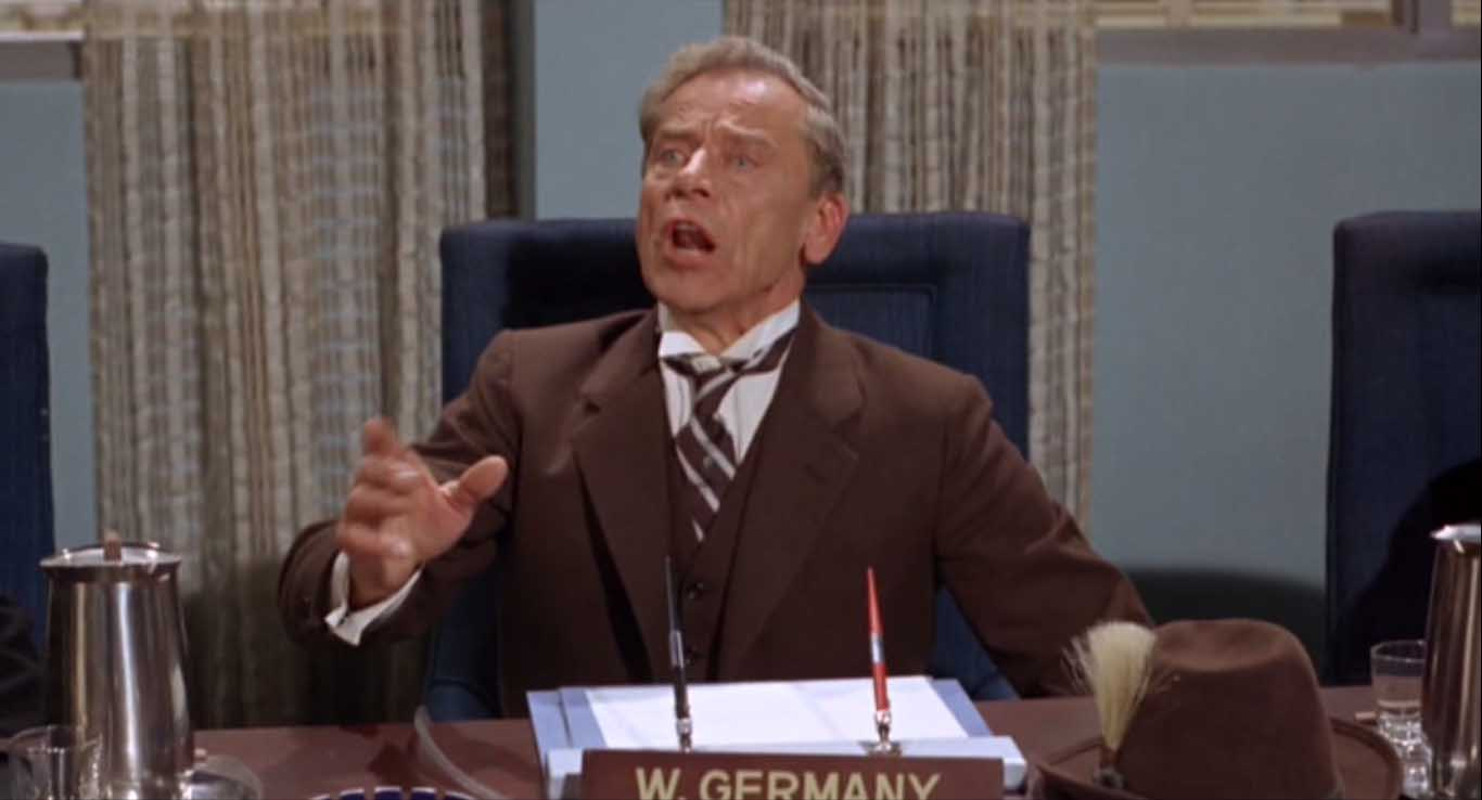 Ivan Triesault as German ambassador, Batman: The Movie (1966)