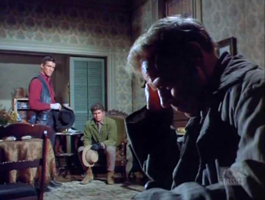 Ivan Triesault as Thad Borchik, Bonanza (1968)