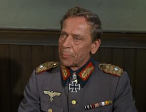 """Kindral von Katz, """"Hogan's Heroes"""", 1967"""