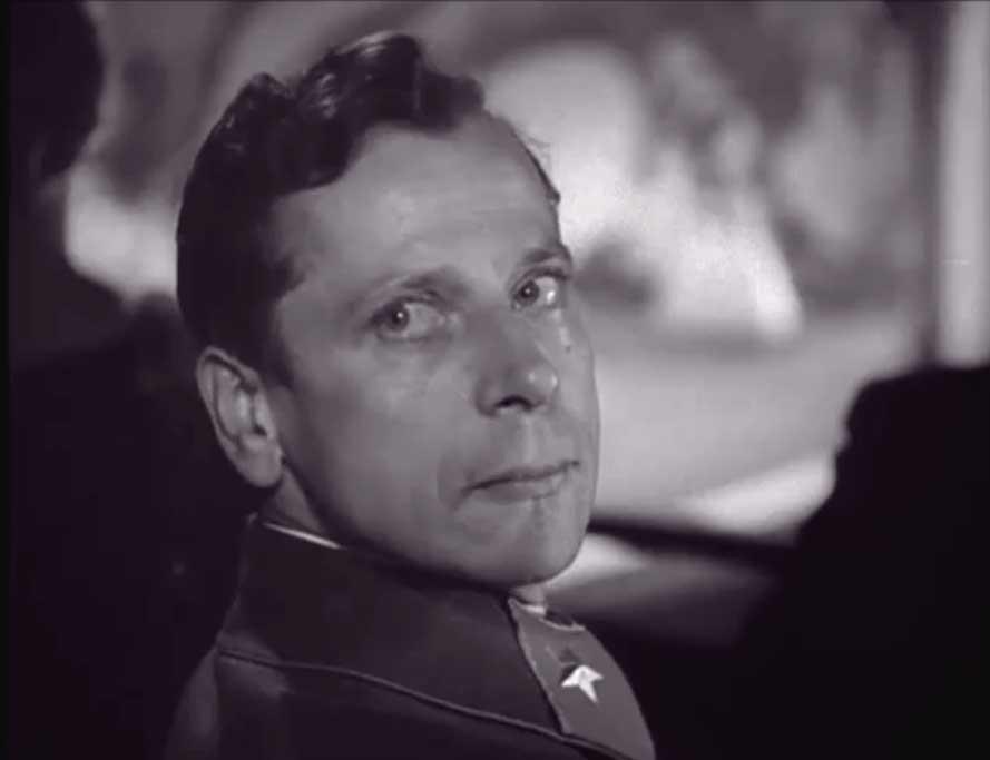 """Esimene suur roll: marssal Tuhhatševski, """"Mission to Moscow"""", 1943"""