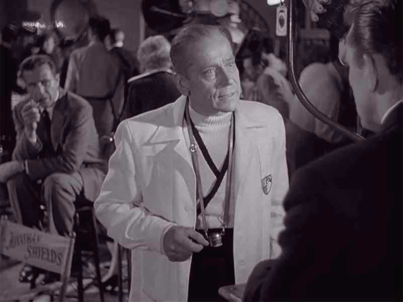 Ivan Triesault as Von Ellstein with Kirk Douglas, The Bad and the Beautiful (1952)