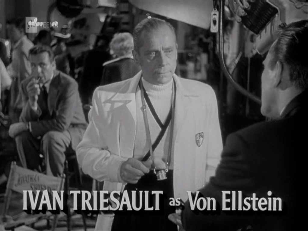 Ivan Triesault as Von Ellstein, The Bad and the Beautiful (1952)