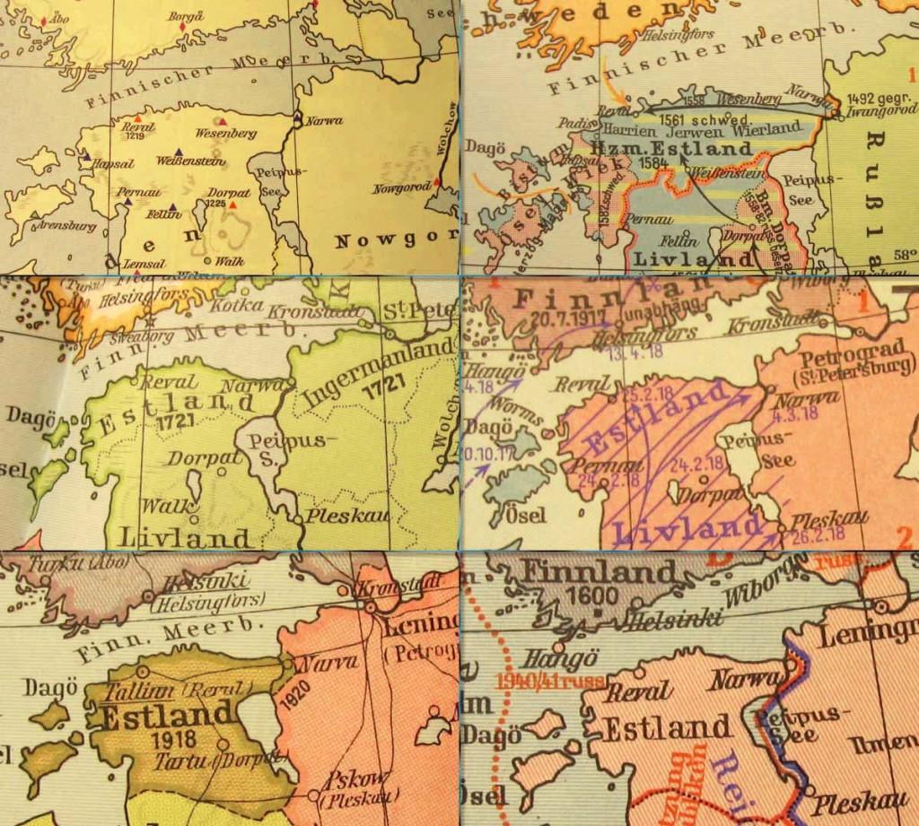 Narva nimi ajaloo kaardil – Narvan nimi historia kartalla