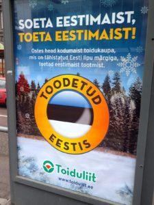 Toodetud Eestis