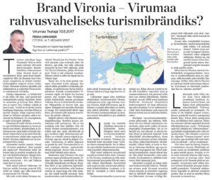 Brand Vironia, Virumaa Teataja 7.03.2017