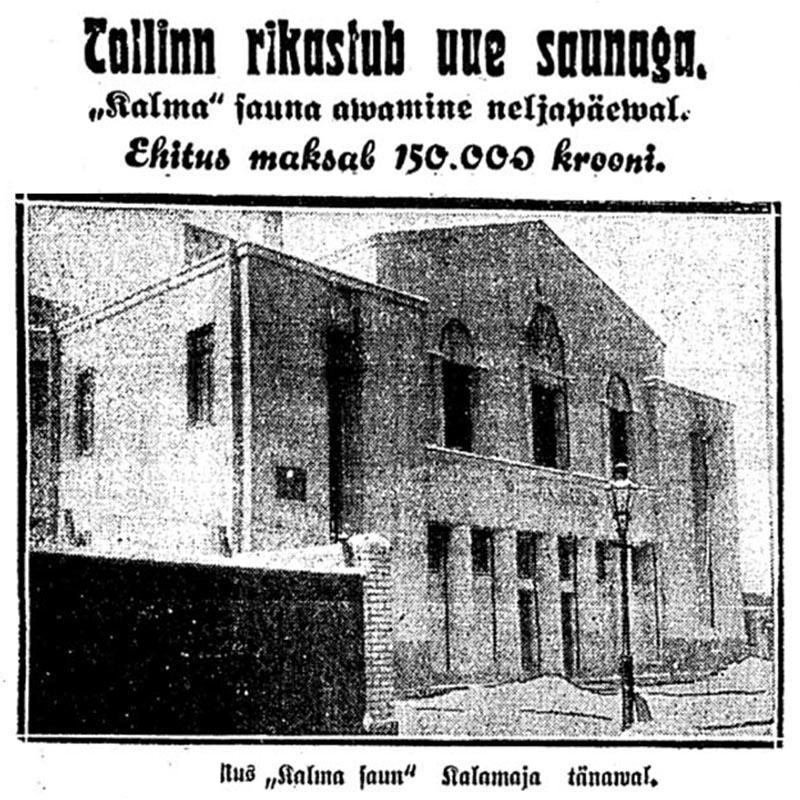 Kalma saun 1929