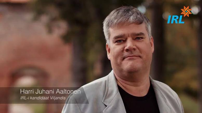 Harri Aaltonen IRL
