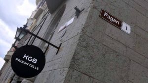 KGB:n tyrmät Tallinnan Pagari-kadulla