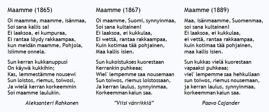suomi maamme laulu - YouTube