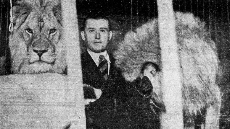 Sirkus Barcelonan esittely Film ja Elu -lehdessä 3.5.1935