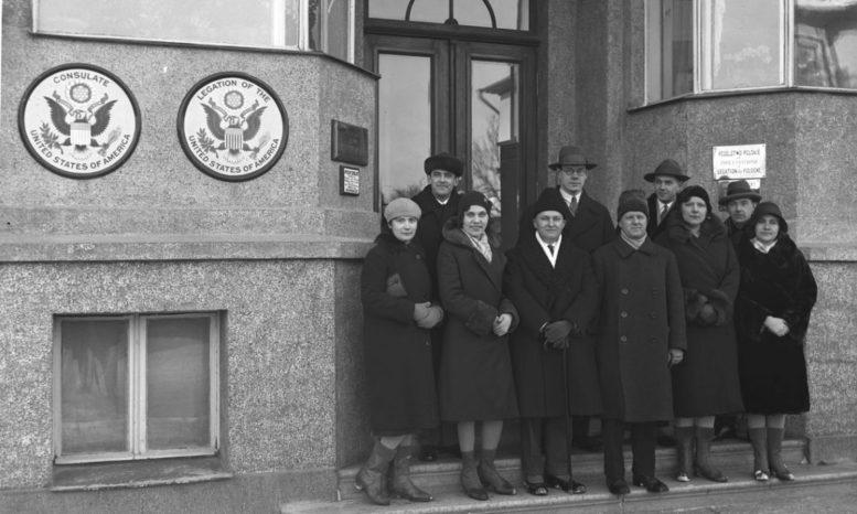 Yhdysvaltain lähetystö 1936