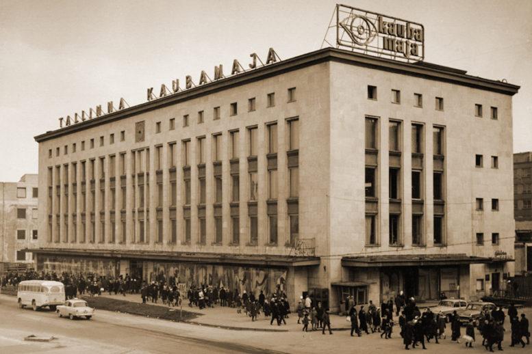 Tallinnan tavaratalo 1970-80-luvuilla