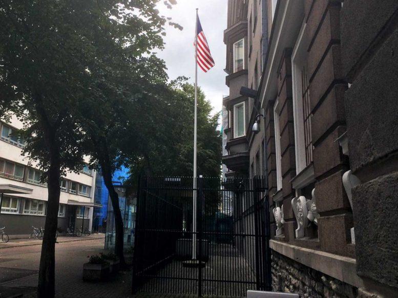 Yhdysvaltain suurlähetystö, Tallinna