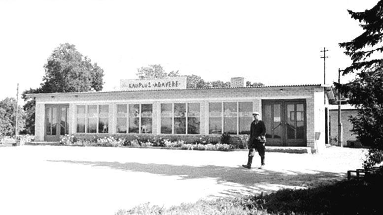 Adaveren kauppa 1966