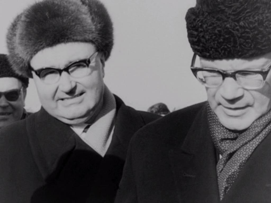 Presidentti Urho Kekkonen Virossa 1964