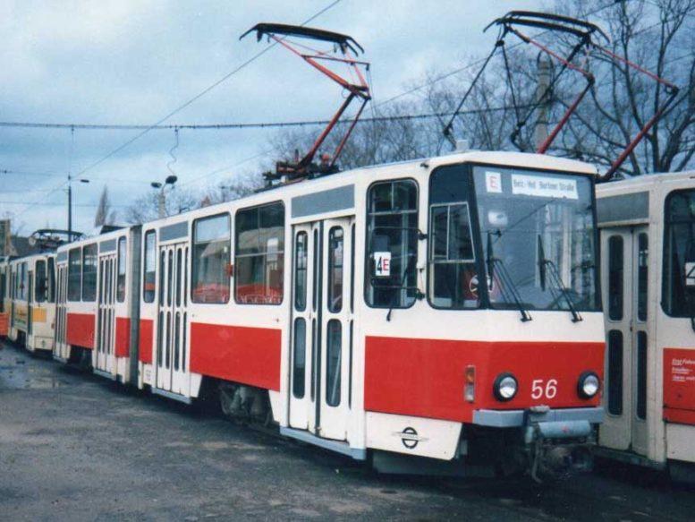 Cottbusin raitiovaunu nro 56
