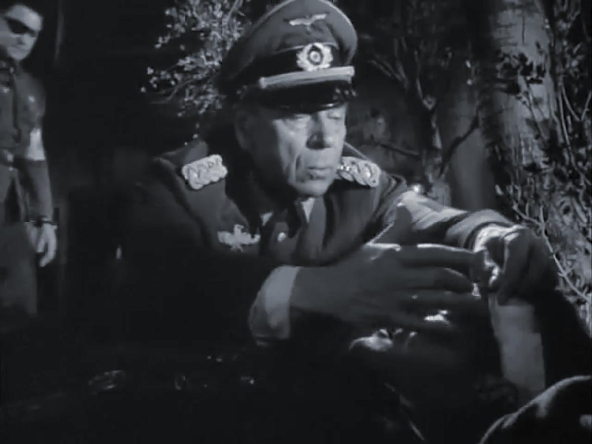 Ivan Triesault as German military doctor, Combat! (1967)