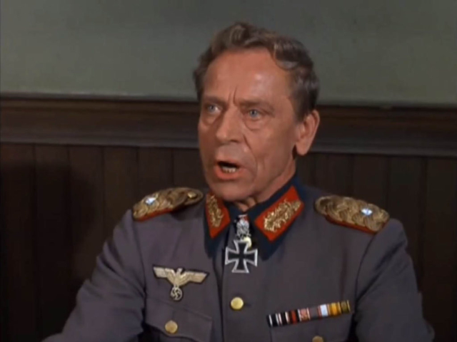 Ivan Triesault as General von Katz, Hogan's Heroes (1967)
