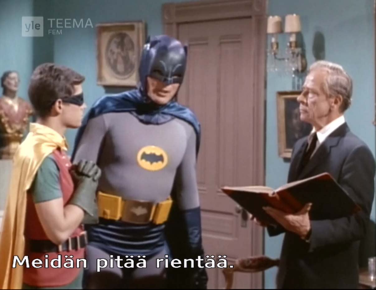 Ivan Triesault as Benson Parkhurst, Batman, The Clock King's Crazy Crimes (1966)