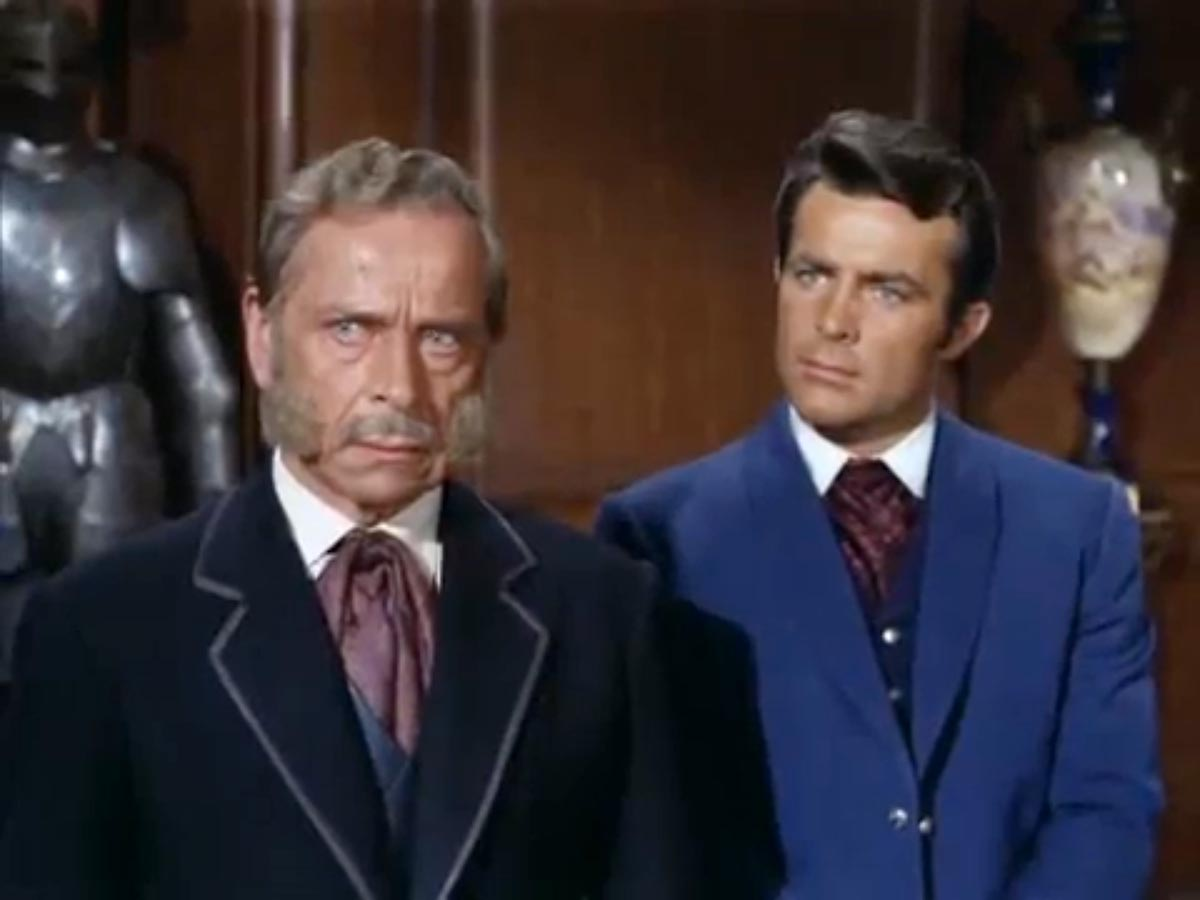 Ivan Triesault as Ambassador, The Wild Wild West (1967)
