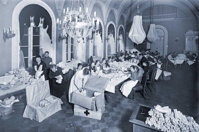 Sidetarpeita Viron vapaussotaan Helsingin keisarillisessa linnassa, Eric Sundström 1919