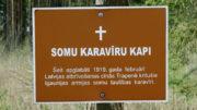 Somu karavīru kapi – Suomalaisten sotilaiden hauta – De finska soldaternas grav – Soome sõdurite haud, Trapene, Latvia