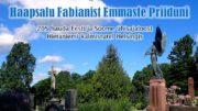 205 hautaa Viron ja Suomen yhteisestä historiasta Hietaniemen hautausmaalla