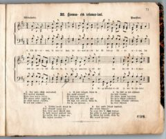 Hiomaa- ehk issamaa-laul, Gustav Felix Rinne, Tartu 1868