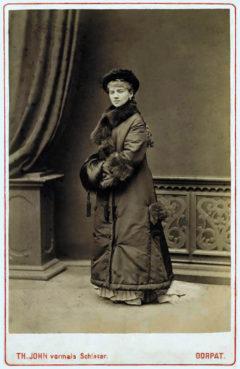 Alma Fohström Tartossa 1879