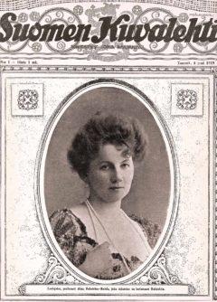 Alma Fohström, Suomen Kuvalehti 1/1919