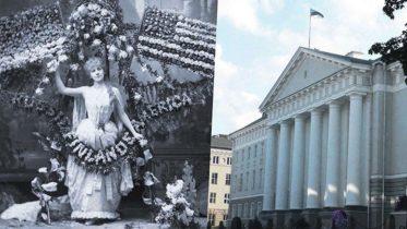 Oopperalaulaja Alma Fohström San Franciscossa 1886 – Tarton yliopiston päärakennus