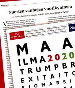 """The Economistin erikoistoimittaja John Parker ennustaa, että käsillä on """"nuorten vanhojen vuosikymmen""""."""