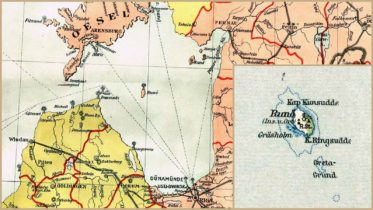 Riian- eli Liivinlahti (1902) ja Ruhnu (1909)
