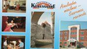 Kuressaaren sanatorio (mainos 1990-luvun alusta), sittemmin Saaremaa valss -kylpylä, nykyinen hoivakoti Saaremaa valss
