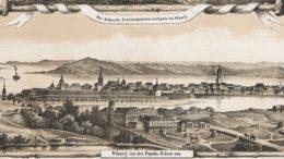 Vaade Viiburi linna Papula mäelt, Näkymä Viipuriin Papulanmäeltä 1859