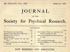 Journal of the Society for Psychical Research, February 1907