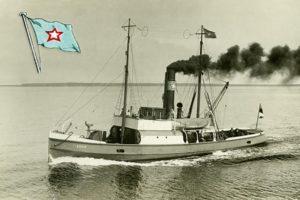 Pelastusalus Karin Tallinnan lahdella 1920-luvulla