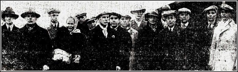 Höyrylaiva Wirin pelastettu miehistö Tallinnassa