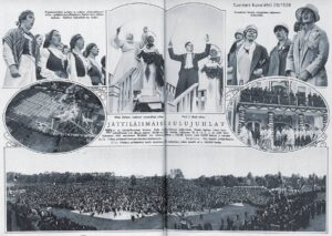 Viron laulujuhlat, Suomen Kuvalehti 29/1928