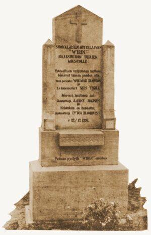 Wirin uhrien muistomerkki 1932