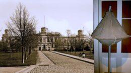 Helsingin tähtitorni 1900-luvun alussa ja alkuperäinen aikamerkkipussi