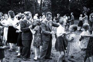 Kotkalaiset Rocca al Maren pioneerileirillä 1955