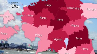 Viron maakuntien mediaanipalkat, Statistikaamet